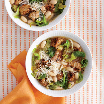 Pork, Bean, and Escarole Soup