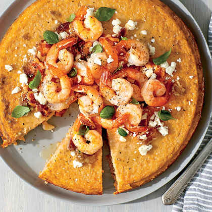 Shrimp 'n' Grits Pie