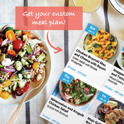 Cooking Light Diet - Get summer-ready with customized meal plans!