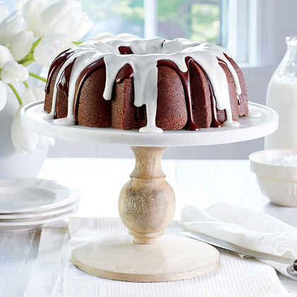 Triple-Chocolate Buttermilk Pound Cake