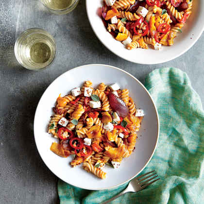 Triple-Pepper Pasta Salad