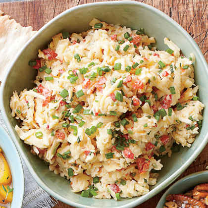 White Cheddar-Chive Pimiento Cheese