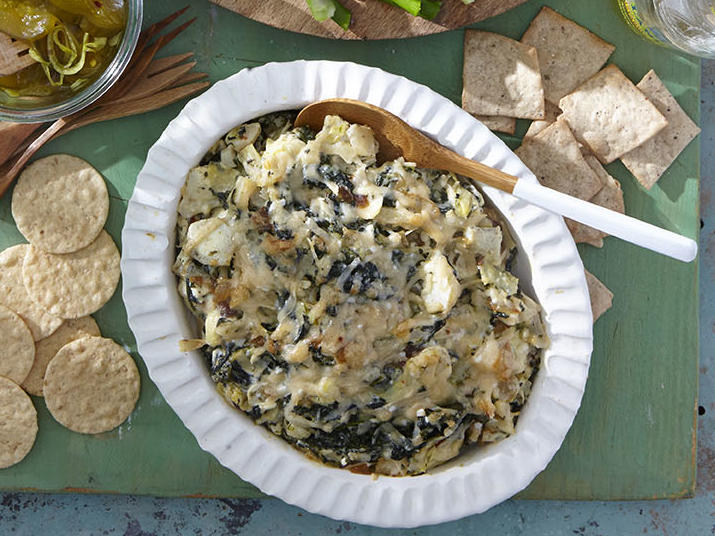 Caramelized Onion-and-Spinach Dip