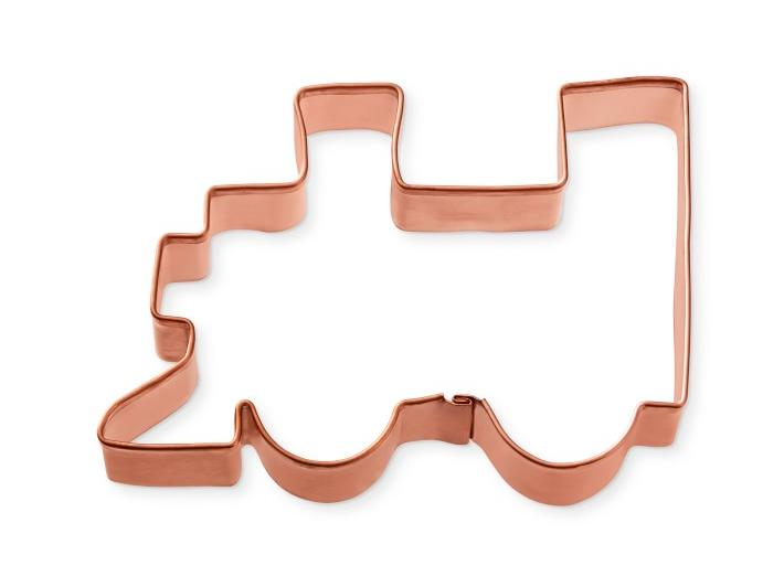 Williams Sonoma Train Copper Cookie Cutter