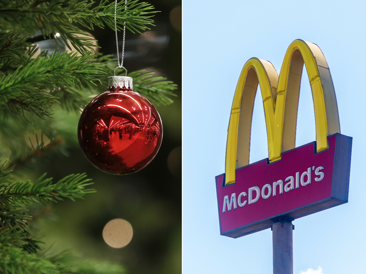 McDonald's Christmas Getty 12/3/2019