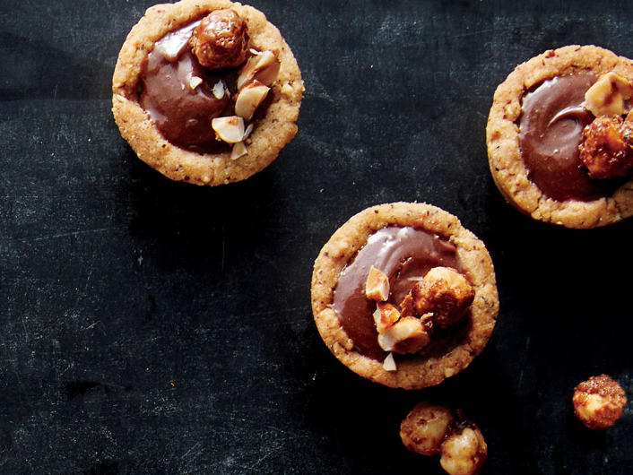 Mini Hazelnut Tarts
