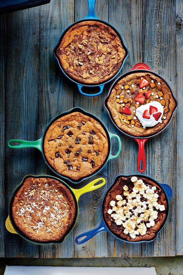 Hummingbird Deep-Dish Skillet Cookie