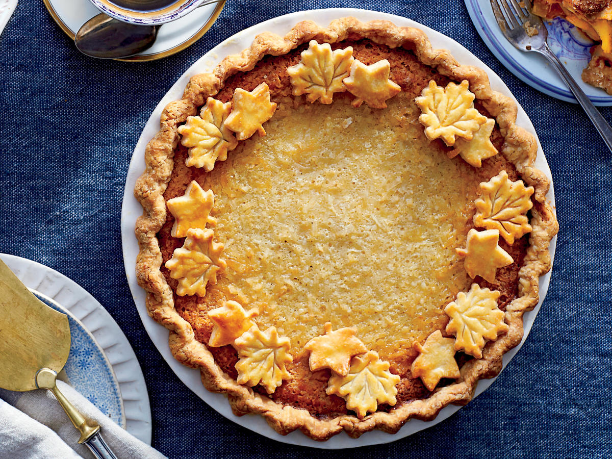Ambrosia Pudding Pie