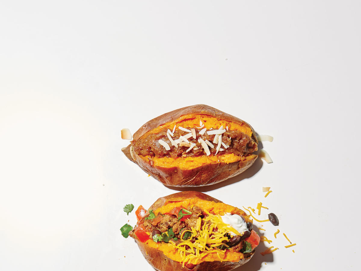 Turkey Taco Potato Topper