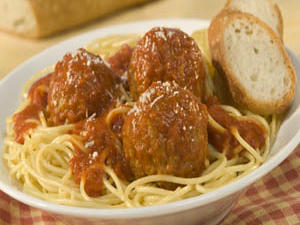 Mama's Best Ever Spagetti and Meatballs