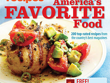 It's Here! Announcing MyRecipes America's Favorite Food