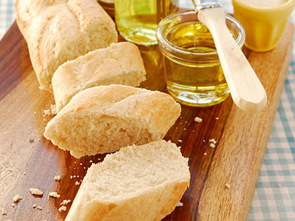 Baguette or loaf, French breads are versatile enough to star in sweet and savory dishes, alike. Try them as a stand-in for pizza crust, a strong base for gooey bread pudding, and the crispy star of French onion soup.
