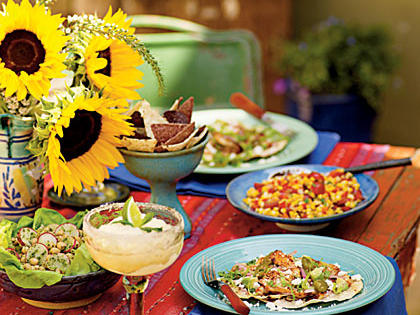 Southwestern Celebration Menu