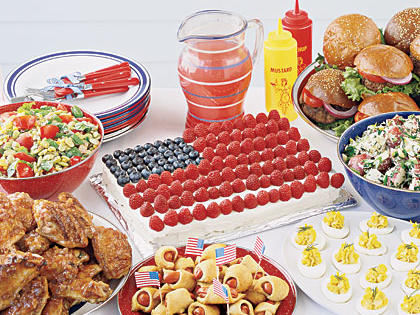 July 4th Cookout Menu