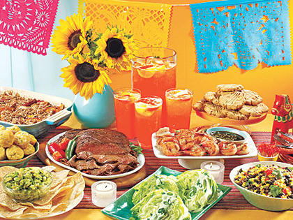 Labor Day Fiesta Menu