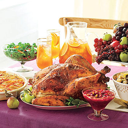Gather Loved Ones and Give Thanks Menu