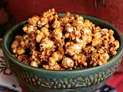 Caramel Popcorn RecipeThis classic caramel popcorn recipe got rave reviews from our online users, who likened it to the gourmet treats they often give or receive during the holidays. Its five-star rating and simple prep will keep this recipe in your weekly family night snack rotation.