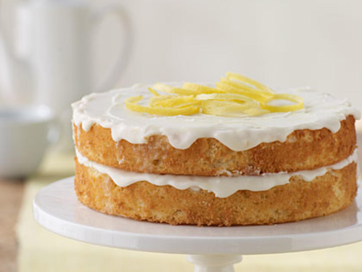 Nathan's Lemon Cake Recipe | MyRecipes