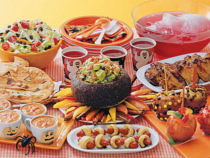 kids halloween dinner menu - Halloween Dinner Kids