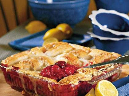Too-Easy Cherry Cobbler