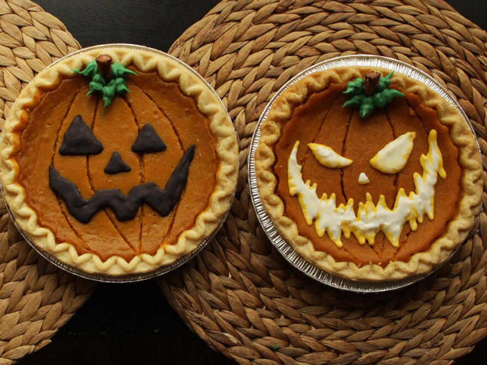 Decorate Store-Bought Pumpkin Pies