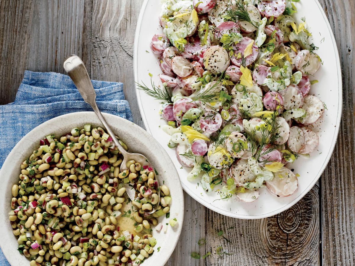 Marinated Field Peas