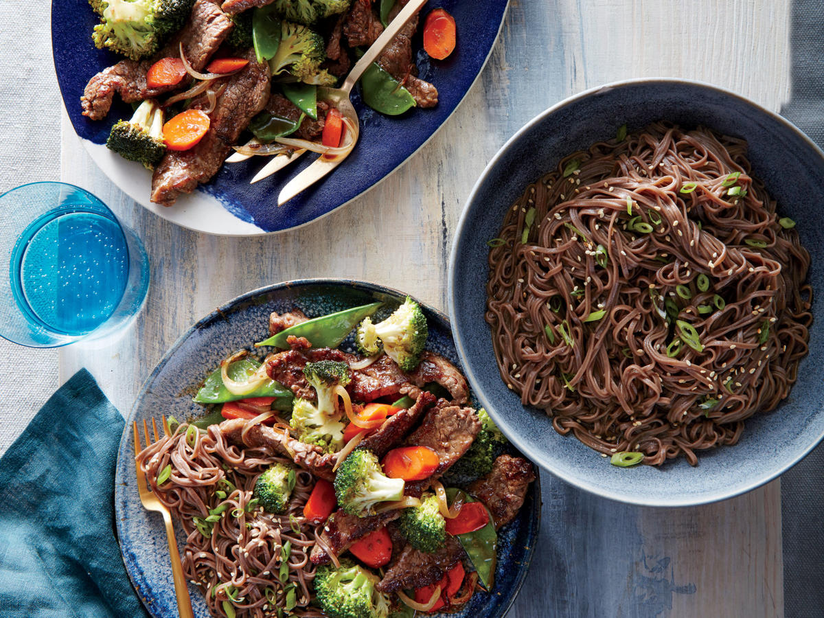 Mongolian Beef and Vegetables image