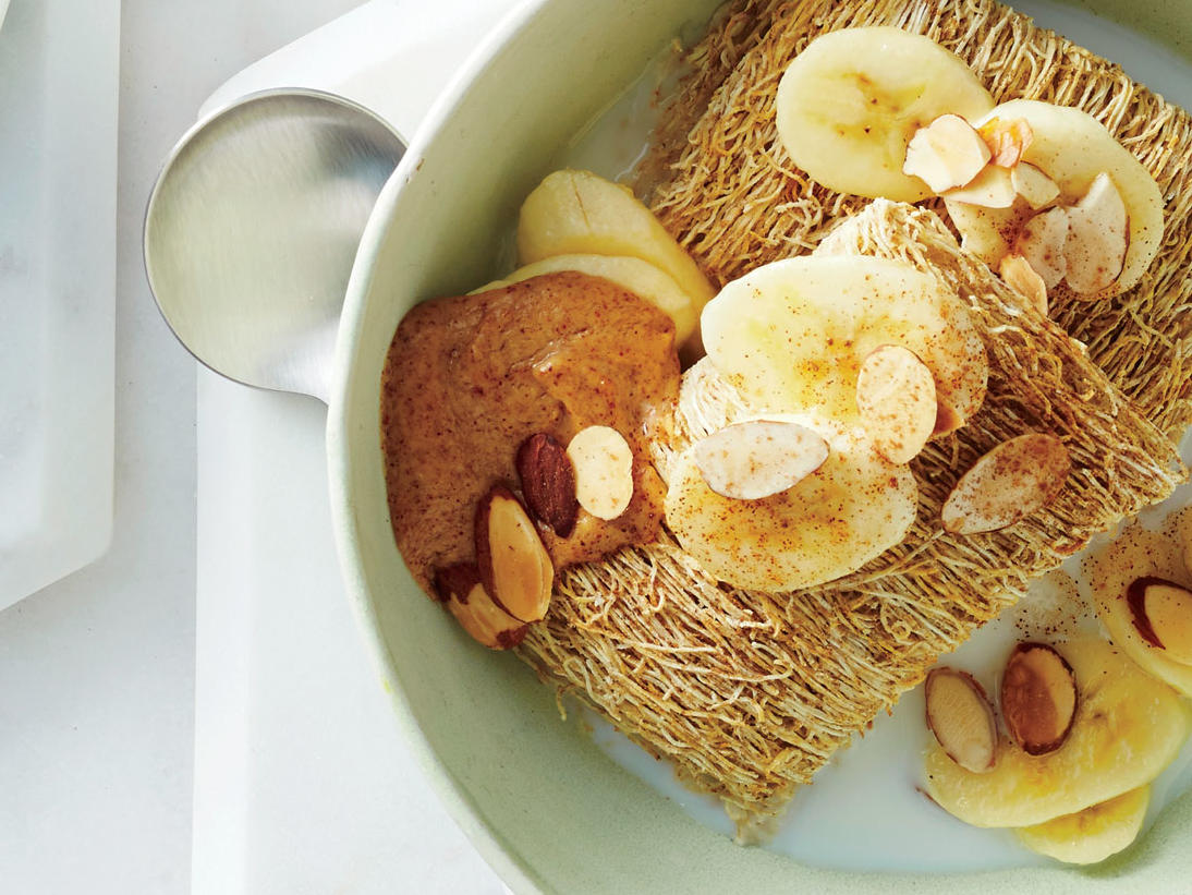 Banana-Nut Shredded Wheat image