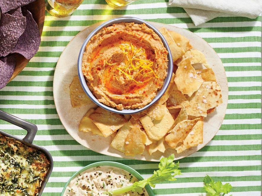 Smoky Black-Eyed Pea Hummus image