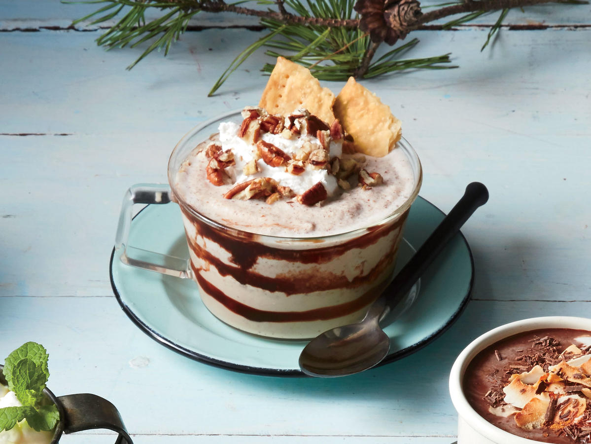 Frozen Pecan Pie Hot Chocolate image