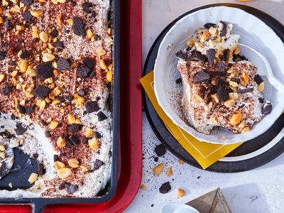 Chocolate-and-Peanut Butter Banana Pudding image