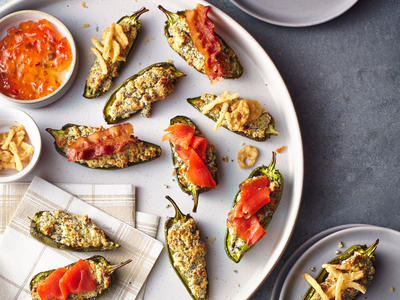 Everything Cream Cheese Jalapeño Poppers image