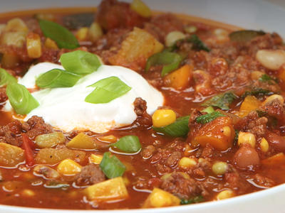 Farmers Market Summer Chili image