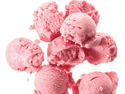 Strawberry-Buttermilk Sherbet