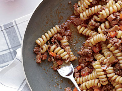 Butcher's Ragu with Fusilli