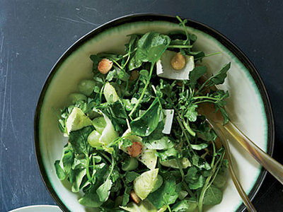 Watercress Salad with Verjus Vinaigrette