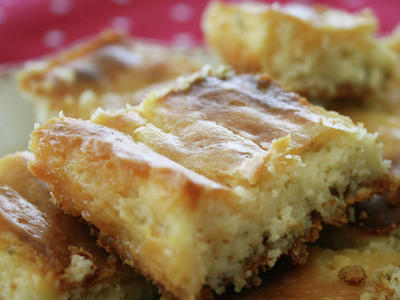 Low-Fat Key Lime Bars