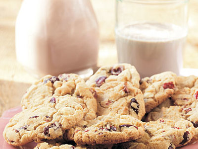 White Chocolate-Cranberry Cookies