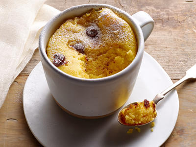Microwave Orange Chocolate Mug Cake