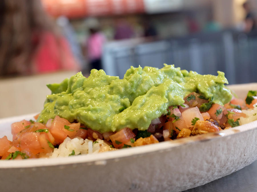 Chipotle Guac Isn't Great Right Now