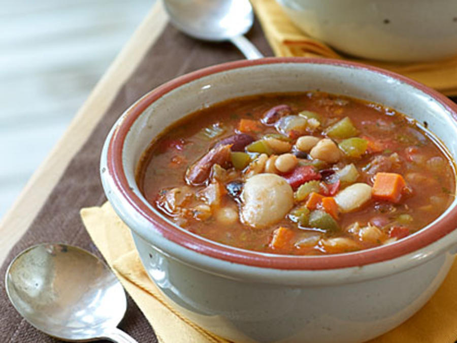 Bean and ham soup recipes easy