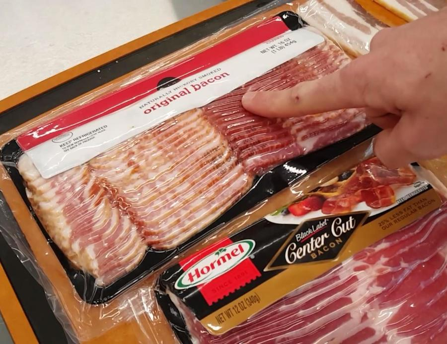 Different Cuts of Bacon Image