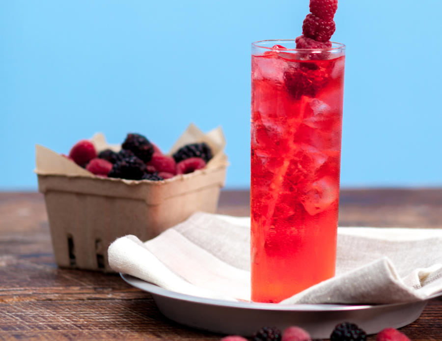 Cherry Berry Cocktail