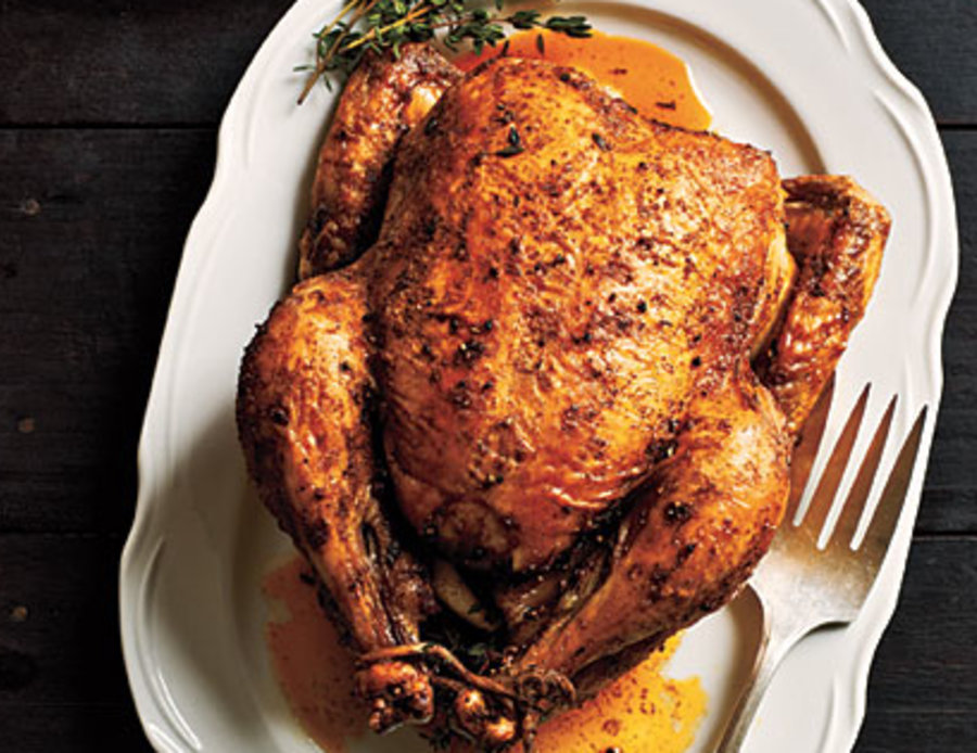 Classic Roast Chicken Recipe Myrecipes