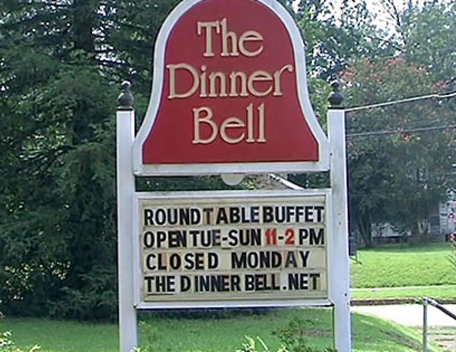The Dinner Bell: Rings for Lunch