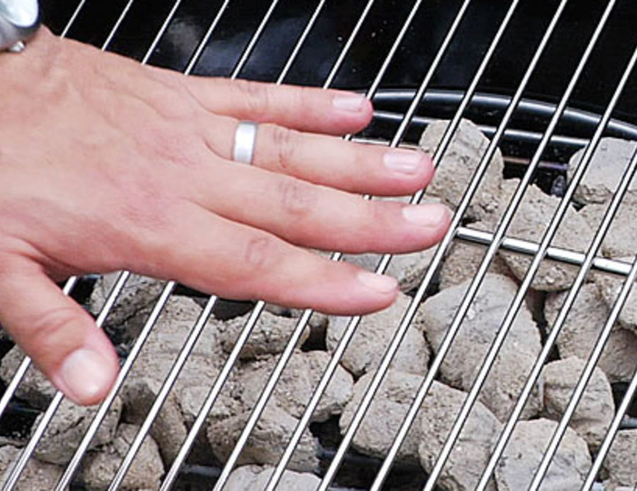 How to Hand Test Grill for Temperature