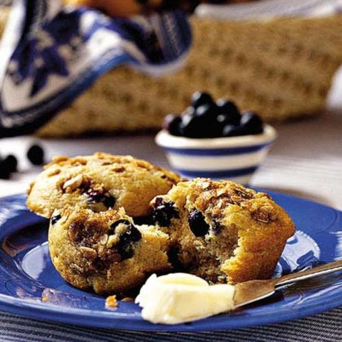 Blueberry-Cinnamon Muffin Free Recipe from My Recipes