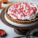 Pomegranate-Orange Tart with Pistachio Shortbread Crust Recipe