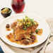 Braised Chicken Thighs with Chicken Skin Gremolata Recipe