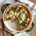 Spinach and Feta Quiche with Quinoa Crust Recipe